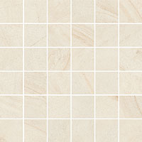 ITALON room stone white mosaico 30x30