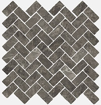 ITALON room stone grey mosaico cross 29.7x31.5