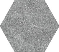 APE soft hexagon grey 23x26