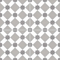 DUAL GRES chic howard grey new 45x45