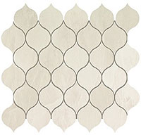 ATLAS CONCORDE marvel edge imperial white drop mosaic 27.2x29.7