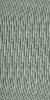 ATLAS CONCORDE 3d wall twist sage matt 40x80
