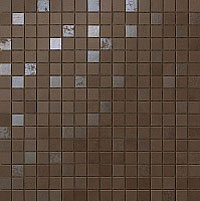 ATLAS CONCORDE dwell brown leather mosaico q 30.5x30.5