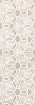 SERRA camelia pearl white decor 30x90