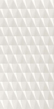 ATLAS CONCORDE 3d wall stars white matt 40x80
