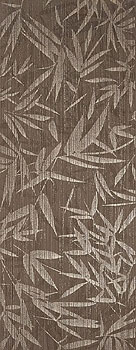 LA PLATERA shui brown leaves 35x90